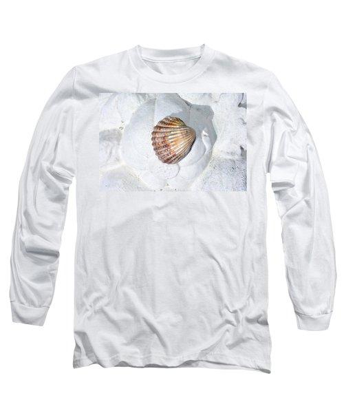 Colored Seashell  Long Sleeve T-Shirt
