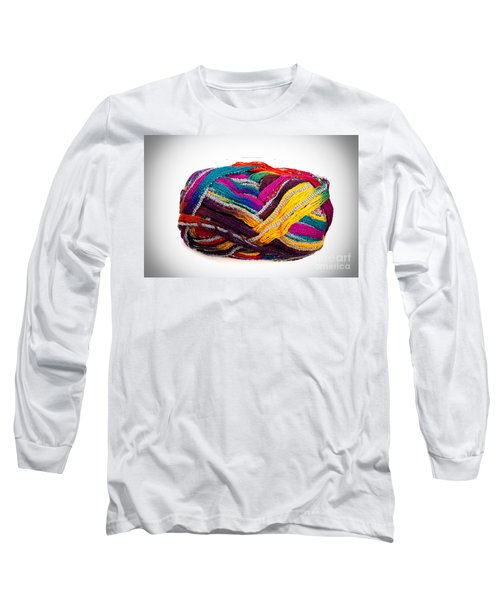 Colorful Yarn Long Sleeve T-Shirt