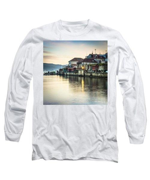 Combarro Pontevedra Galicia Spain Long Sleeve T-Shirt
