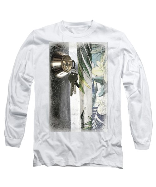 Long Sleeve T-Shirt featuring the photograph Come Back Soon by Ellen Cotton