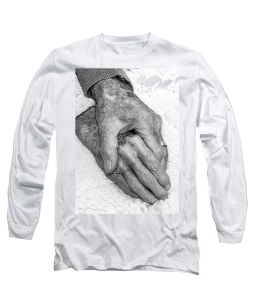 Long Sleeve T-Shirt featuring the photograph Commitment by Roselynne Broussard