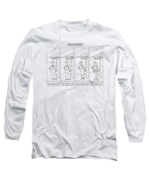 Commuters Long Sleeve T-Shirt