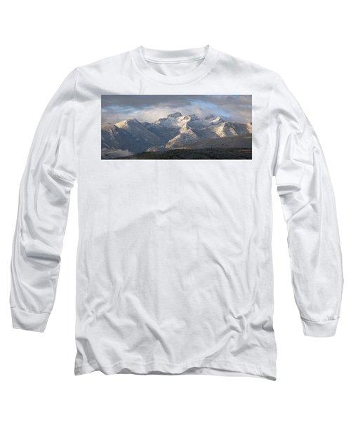 Como Peaks Montana Long Sleeve T-Shirt by Joseph J Stevens
