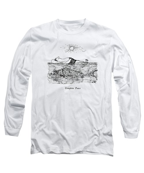 Complete Peace Long Sleeve T-Shirt