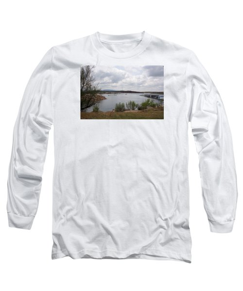 Conchas Dam Long Sleeve T-Shirt by Sheri Keith