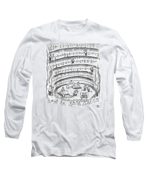 Construction Work In Hell Long Sleeve T-Shirt