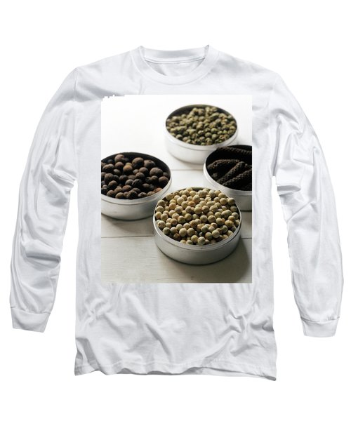 Containers Of Peppers Long Sleeve T-Shirt