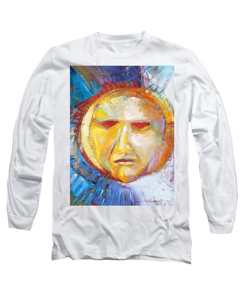 Contemplating The Sun Long Sleeve T-Shirt