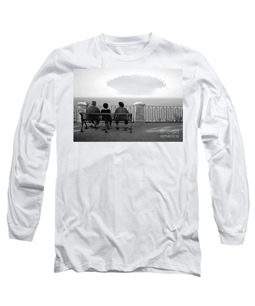 Conversations By The Sea Long Sleeve T-Shirt