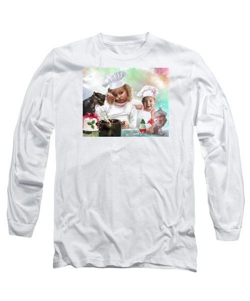 Cookin Up A Little Christmas Magic Long Sleeve T-Shirt