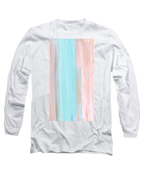 Long Sleeve T-Shirt featuring the painting Cool Jade by Stephanie Grant