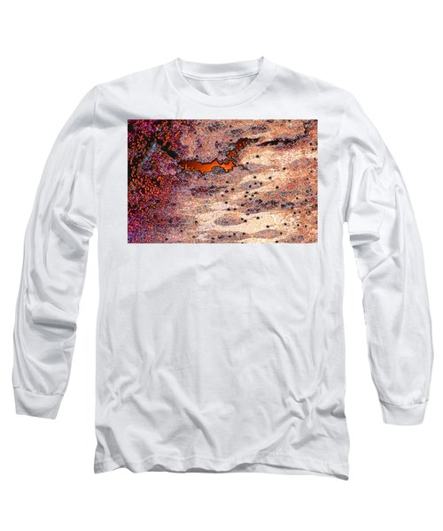Long Sleeve T-Shirt featuring the photograph Copper Landscape by Stephanie Grant