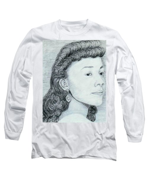 Coretta Scott King Long Sleeve T-Shirt