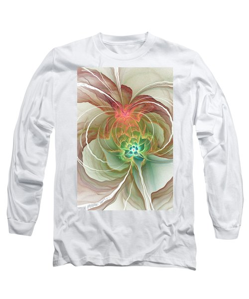 Corsage Long Sleeve T-Shirt