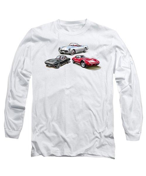 Corvette Generation Long Sleeve T-Shirt