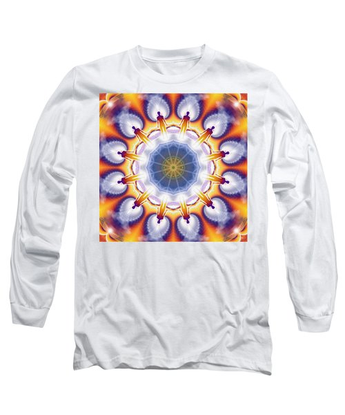 Cosmic Spiral Kaleidoscope 34 Long Sleeve T-Shirt