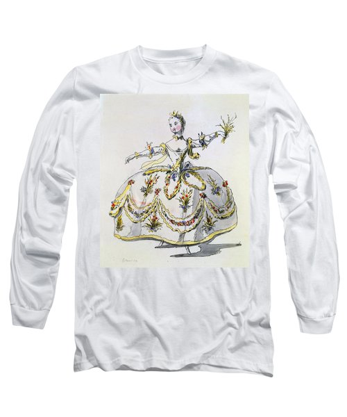 Costume Design For Ceres, Facsimile Long Sleeve T-Shirt