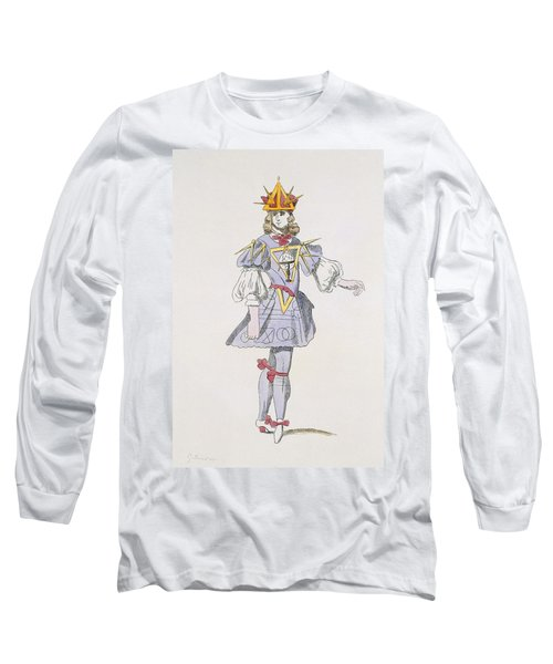 Costume Design For Geometry In A 17th Long Sleeve T-Shirt