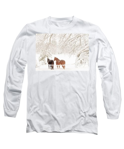 Country Snow Long Sleeve T-Shirt