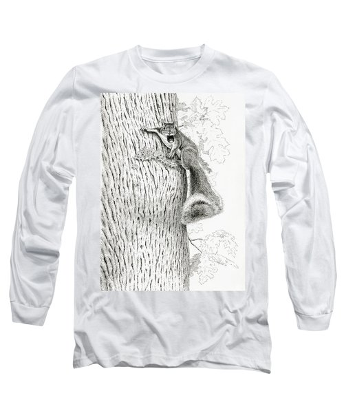 Coveting Nuts Long Sleeve T-Shirt