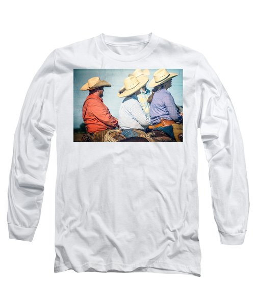 Long Sleeve T-Shirt featuring the photograph Cowboy Colors by Steven Bateson