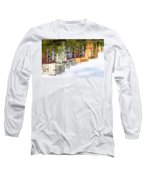 Long Sleeve T-Shirt featuring the photograph Creekside Reflections by Kate Brown