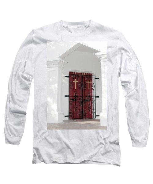Key West Church Doors Long Sleeve T-Shirt