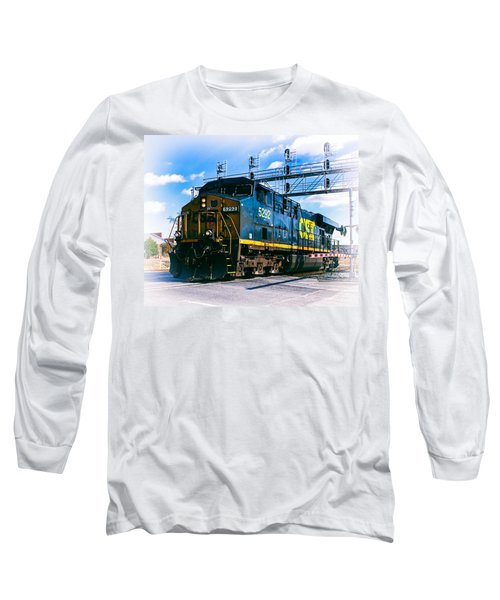 Csx 5292 Warner Street Crossing Long Sleeve T-Shirt