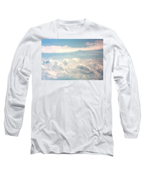 Cumulus Clouds Long Sleeve T-Shirt