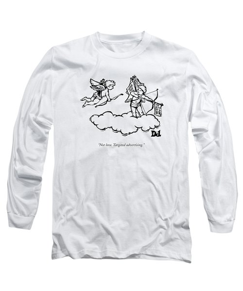 Cupid's Twin Shoots Coupons From Up On A Cloud Long Sleeve T-Shirt
