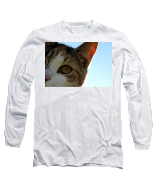 Curious Cat Long Sleeve T-Shirt