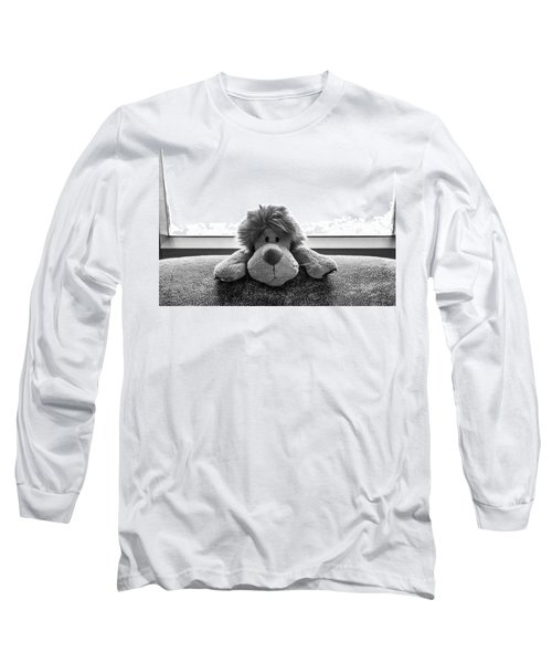 Curious Leo Long Sleeve T-Shirt