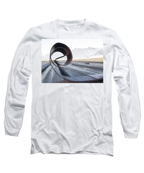 Curled Steel Long Sleeve T-Shirt
