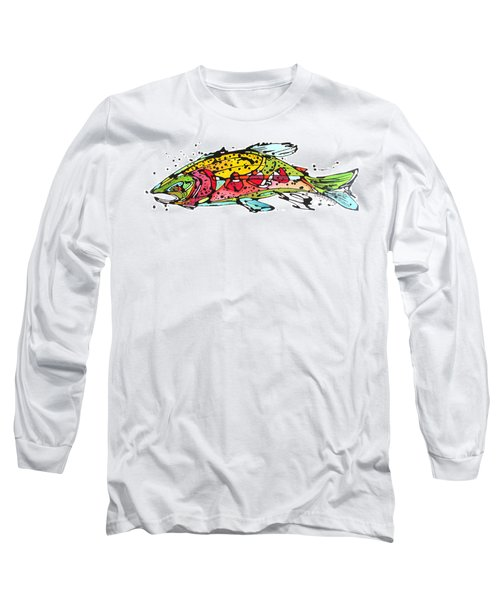 Cutthroat Trout Long Sleeve T-Shirt