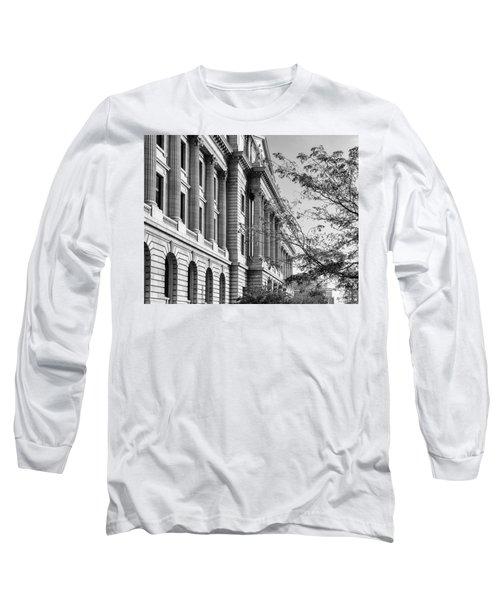 Cuyahoga County Court House Long Sleeve T-Shirt