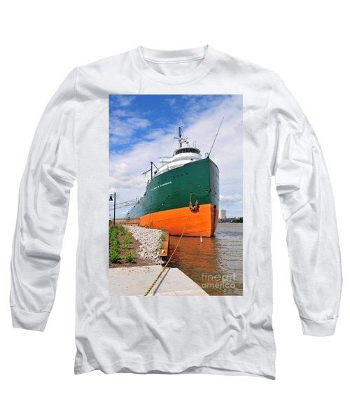 D12u763 Ss Col James M Schoonmaker Long Sleeve T-Shirt