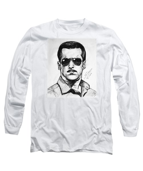 Salman Khan Long Sleeve T-Shirt