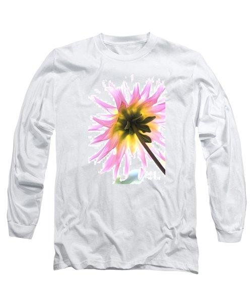 Dahlia Flower Long Sleeve T-Shirt