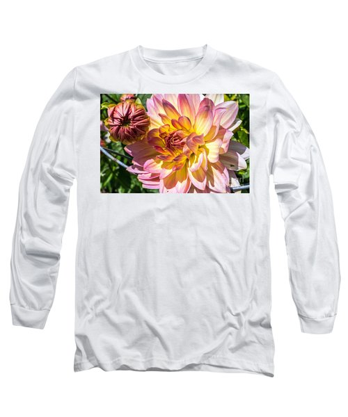 Long Sleeve T-Shirt featuring the photograph Dahlia by Kate Brown