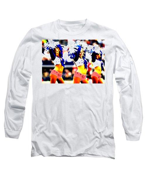 Dallas Cowboys Cheerleaders Long Sleeve T-Shirt