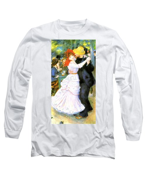 Dance At Bougival Long Sleeve T-Shirt