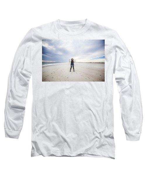Dance At The Beach Long Sleeve T-Shirt