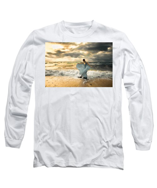 Dancing In The Surf Long Sleeve T-Shirt