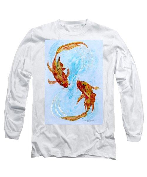 Dancing Koi Sold Long Sleeve T-Shirt