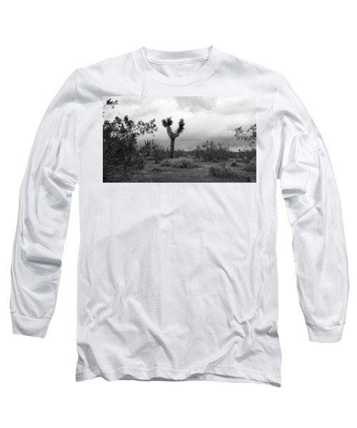 Dancing Though Its Gray Long Sleeve T-Shirt