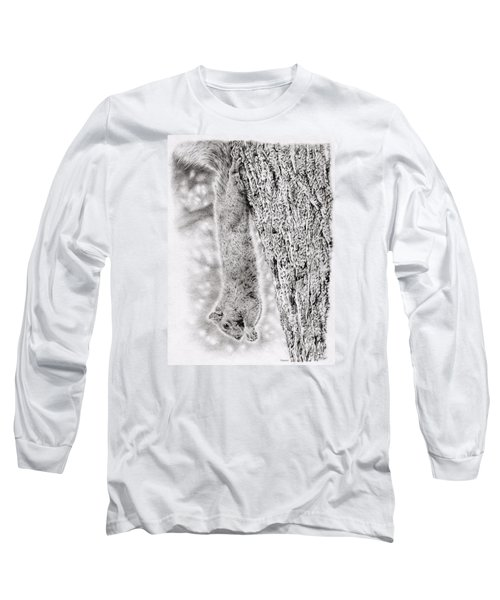 Dangling Squirrel Long Sleeve T-Shirt