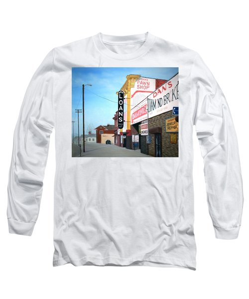 Dan's Long Sleeve T-Shirt by Stacy C Bottoms