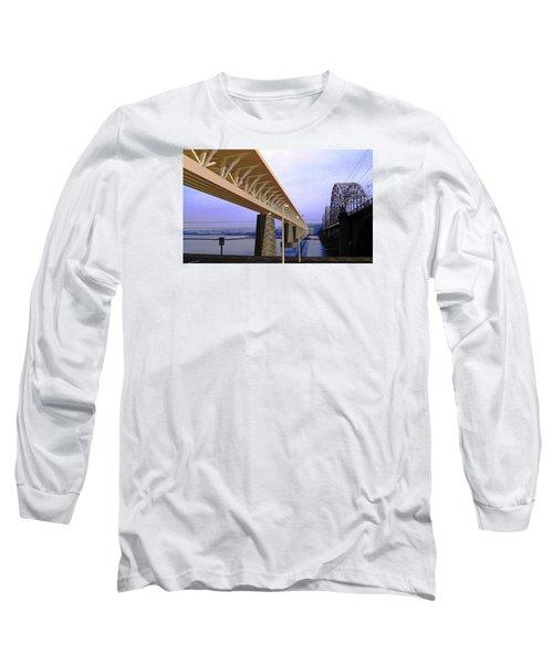 Darnitsky Bridge Long Sleeve T-Shirt