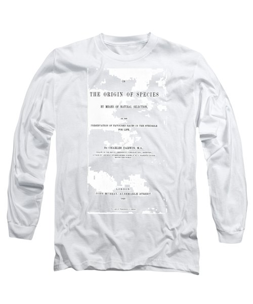 Darwin's The Origin Of Species Long Sleeve T-Shirt