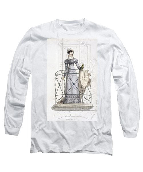 Day Dress, Fashion Plate Long Sleeve T-Shirt
